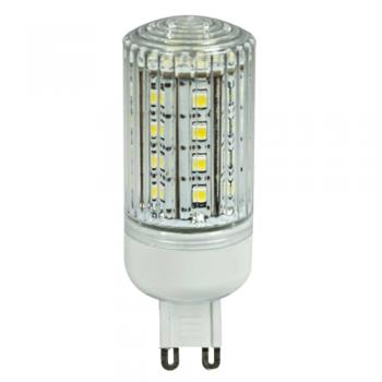LÁMPARA BIPIN LED G9 220V DE 3,5W - 330 LM EN TONO FRÍO 6000K