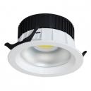 DOWNLIGHT LED DE 30W - 2.400 LM 160º BLANCO EN TONO FRÍO 6000K