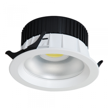 DOWNLIGHT LED DE 30W - 2.400 LM 160º BLANCO EN TONO FRÍO 6000K