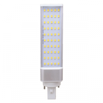 LÁMPARA DOWNLGHT LED GIRATORIA G24 DE 10W - 1050 LM EN TONO CÁLIDO 3000K