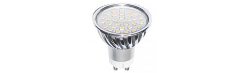 DICROICAS LED CASQUILLO GU10 DE 220V
