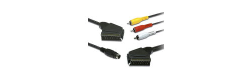 EUROCONECTORES CON RCA Y SVHS