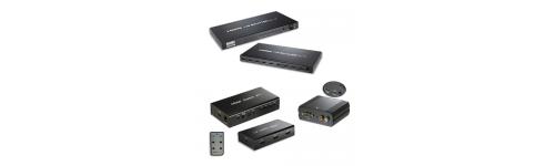 REPARTIDORES Y CONVERTIDORES HDMI
