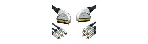 EUROCONECTORES HT EURO A RCA Y VHS