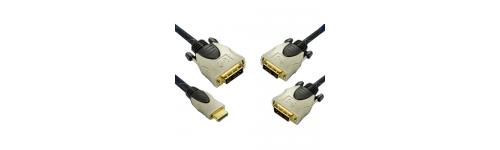 CABLES HT DE HDMI Y DVI